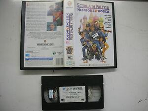 Scuola-Di-Polizia-Missione-Mosca-1994-VHS-Italiano