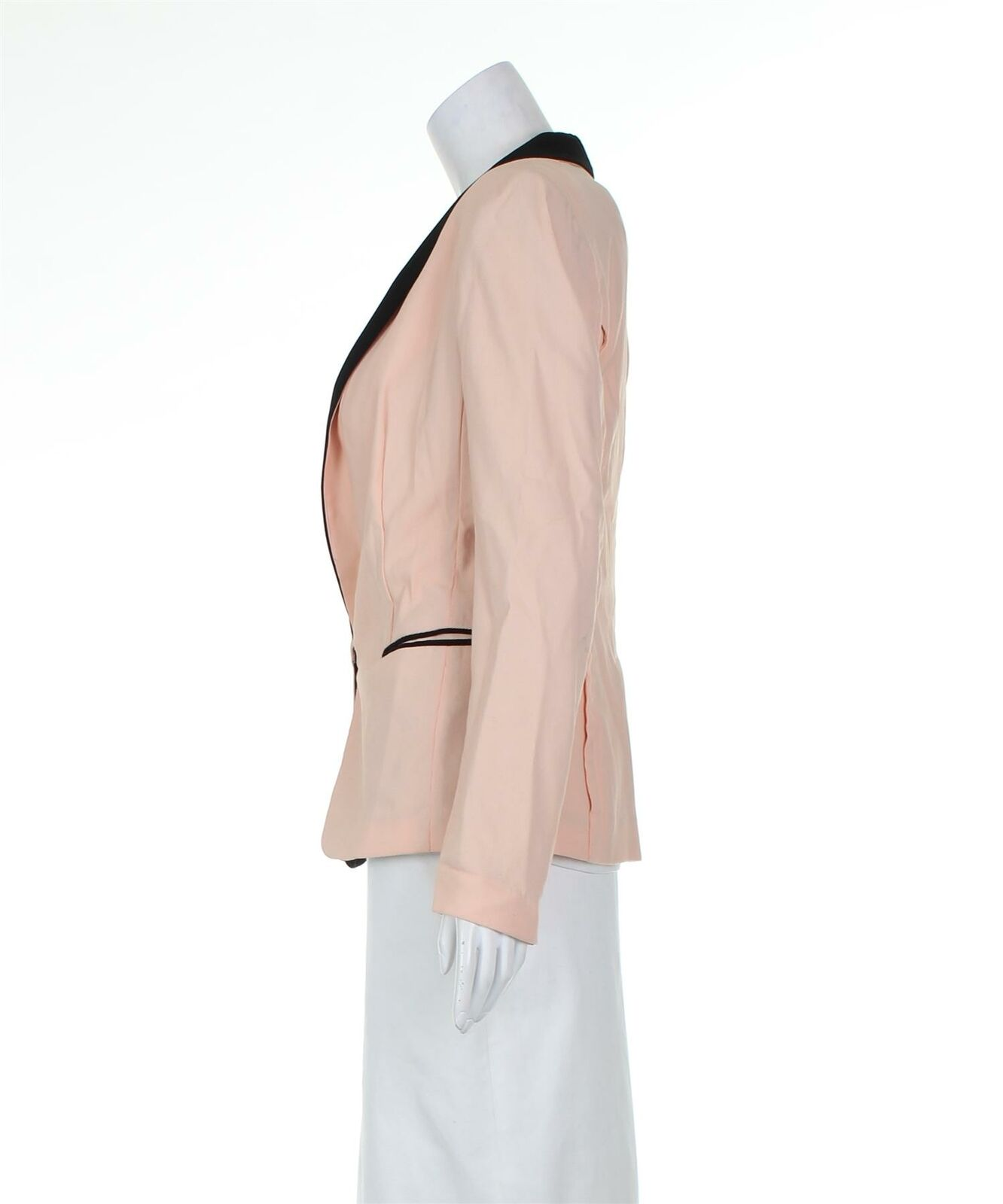 RAG & BONE Pink And Black Blazer Jacket, UK 6 US … - image 2