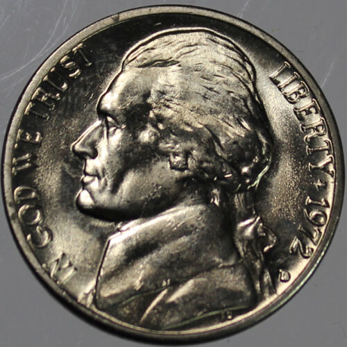1972-D Full Step FS Gem BU Jefferson Nickel SP