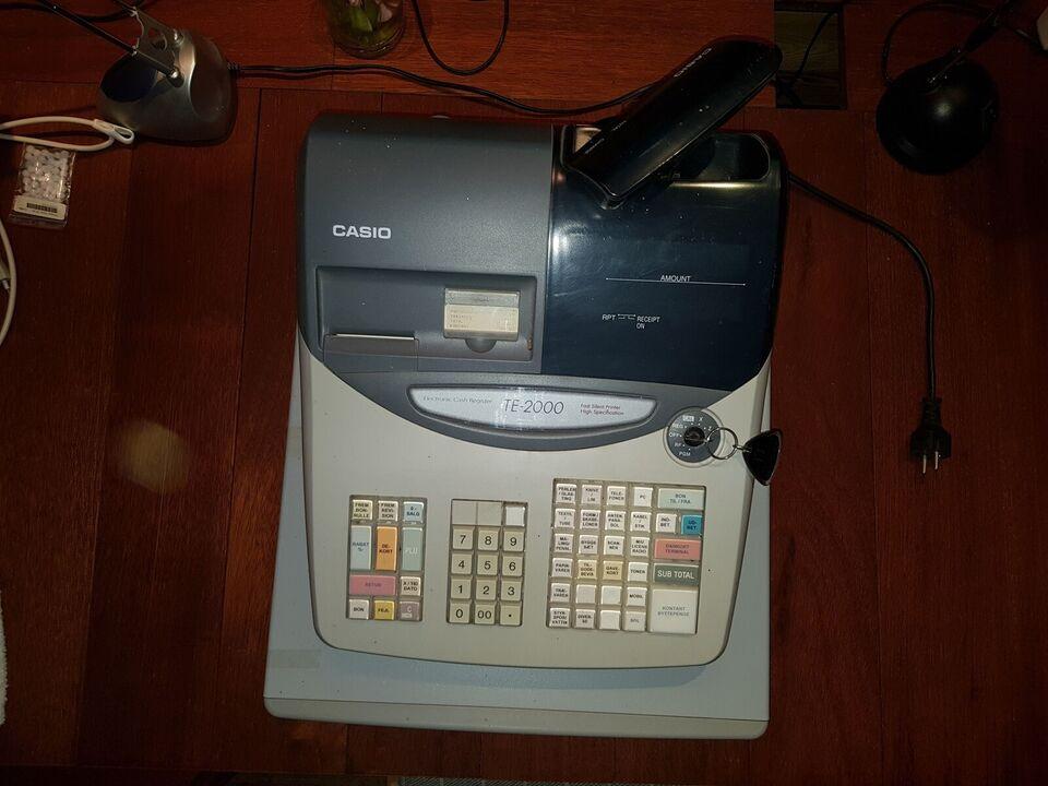 Kasseapparat Casio TE2000
