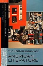 The Norton Anthology of American Literature (Shorter Seventh Edition)  (Vol. 2),