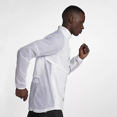 Hommes Nike running division légère coupe vent Veste blanc 922040 100 M L XL 2XL | eBay