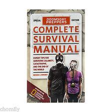 Doomsday Preppers Complete Survival Manual.  Doomsday Prepper Book.