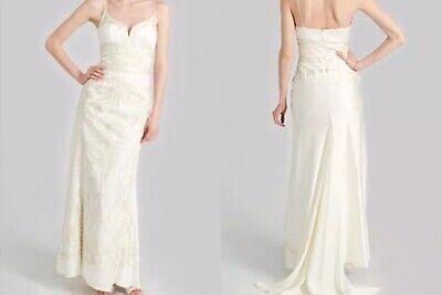 Nicole Miller Wedding Dress Streetsize 6 8 Designer Gown New Tags 2600 Lj0002 Ebay