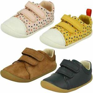 Détails sur Clarks Enfant Pre walker Chaussures