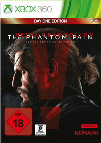 1 von 1 - Metal Gear Solid V: The Phantom Pain -- Day One Edition (Microsoft Xbox 360, 201