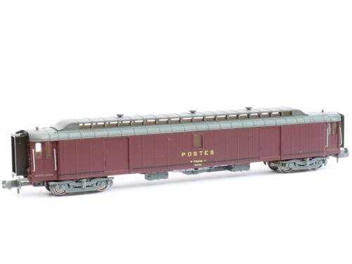REE NW-124 Güterwagen Postwagen Pez PTT SNCF Ep.IV NEU Spur N