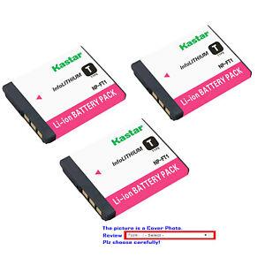 Batería NP-FT1 NPFT1 para Sony Cyber-shot Cybershot DSC-T1 DSC-T3 DSC-T3S DSC-T5