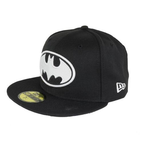 New Era 5950 Batman Basic Fitted Cap Kappe Mütze schwarz 92974