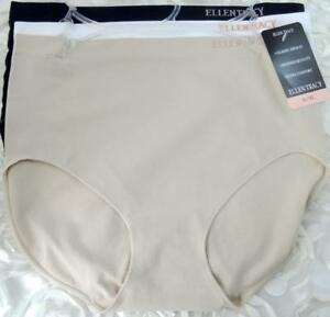 bf029f4a0735 Ellen Tracy Women's Seamless Brief Panties Size 8 X-Large 51417 ...