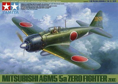 Tamiya 61103 Mitsubishi A6M5/5a Zero Fighter (Zeke) 1/48 scale kit