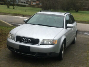 Audi A4 Avant 2004: Daily Driver! Going for Cheap.