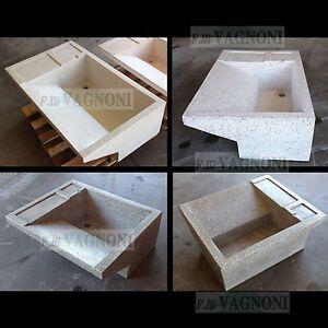 Lavandino vasca lavapanni in graniglia di marmo e cemento levigata lavanderia ebay - Fare il bagno con l assorbente interno ...