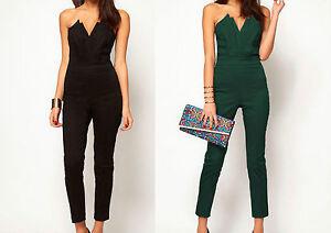 newest collection bbb07 a44b6 Dettagli su Vestito da donna lungo con pantalone abito vestitino damigella  cerimonia party
