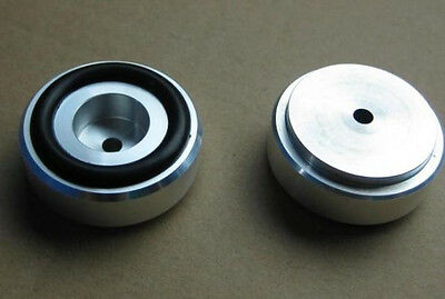 4pcs Aluminum feets for Power amp (with Rubber ring) D:39mm H:16mm