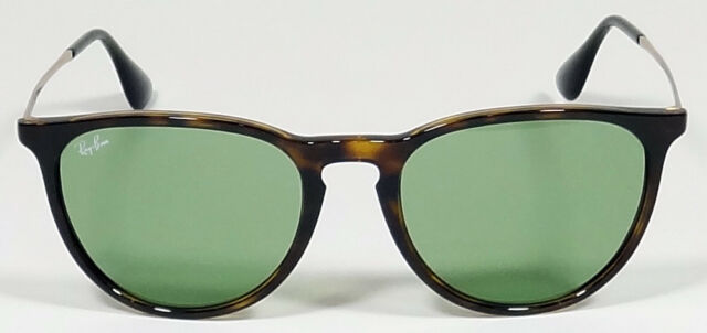 b17fa79f55 Ray-Ban Erika Rb4171 6393 2 Tortoise Frame Green Classic 54mm Lens  Sunglasses