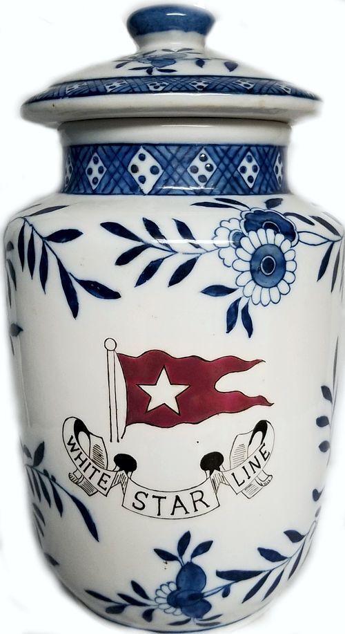 Titanic Geschenks Porcelain Ginger Jar