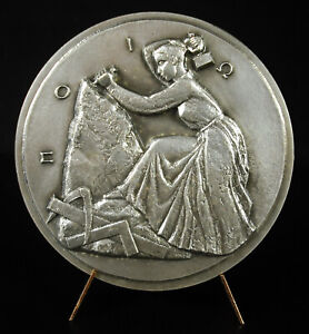 Medal-to-Germaine-Resseguier-Medailleur-Womens-Ladies-Sculptor-Sc-Lagriffoul