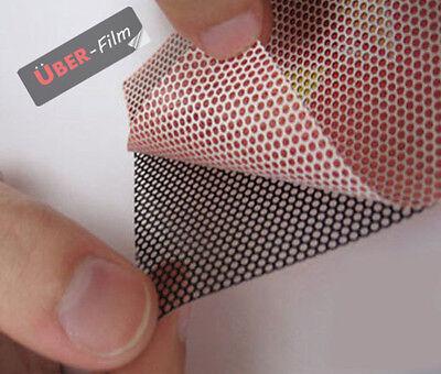 Business & Industrial Printing & Graphic Arts Uber-film One Way Digital Printing Solvent Print Media Window Film Sign Vinyl