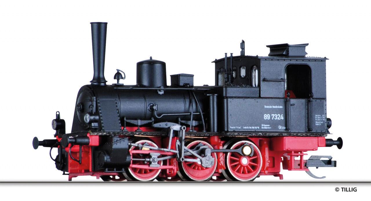 TT Locomotiva br89.7 DB EP. III Tillig 04241 NUOVO