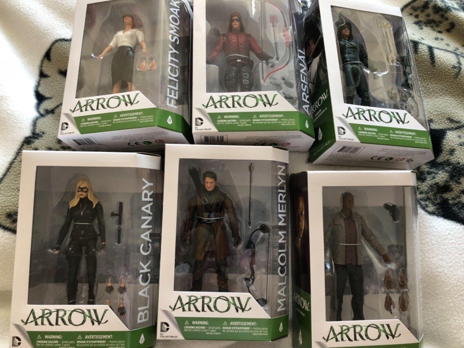 Arrow tv series 3 six 6 inch figure sets