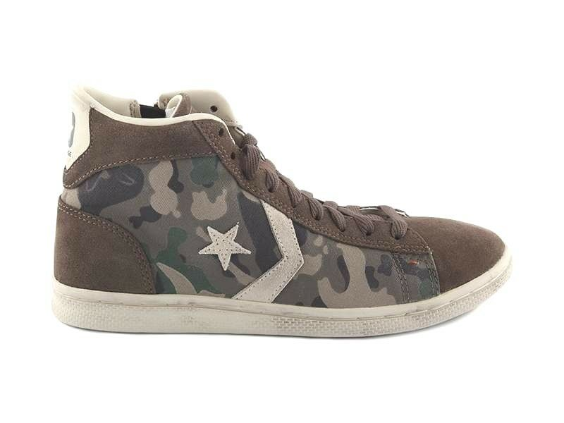 Converse pro Leather LP mid Txt   Sue Z T Man Woman shoes High Camouflage