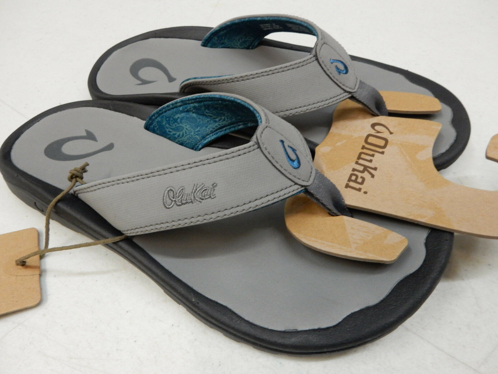 Sandali e scarpe per il mare da uomo OLUKAI uomoS SANDALS OHANA POI POI SIZE 8