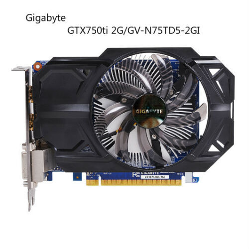 GIGABYTE GTX750ti//GV-N75TD5-2GI DDR5 Graphics Card gold-plated HDMI connectors