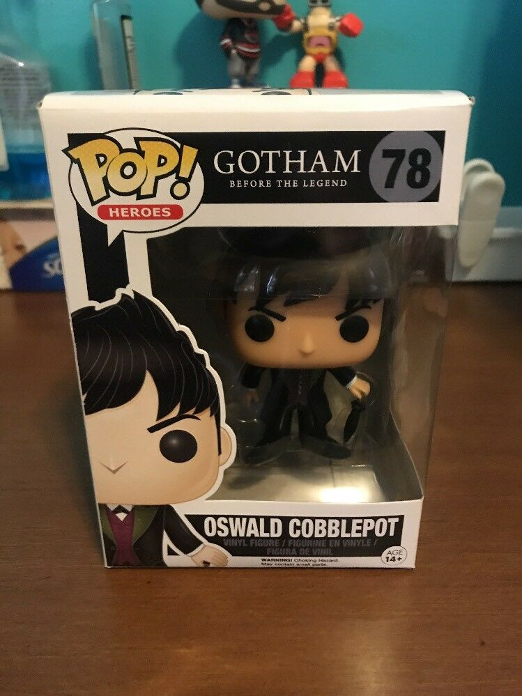 Pop - actionfiguren - tv  gotham - oswald cobblepot