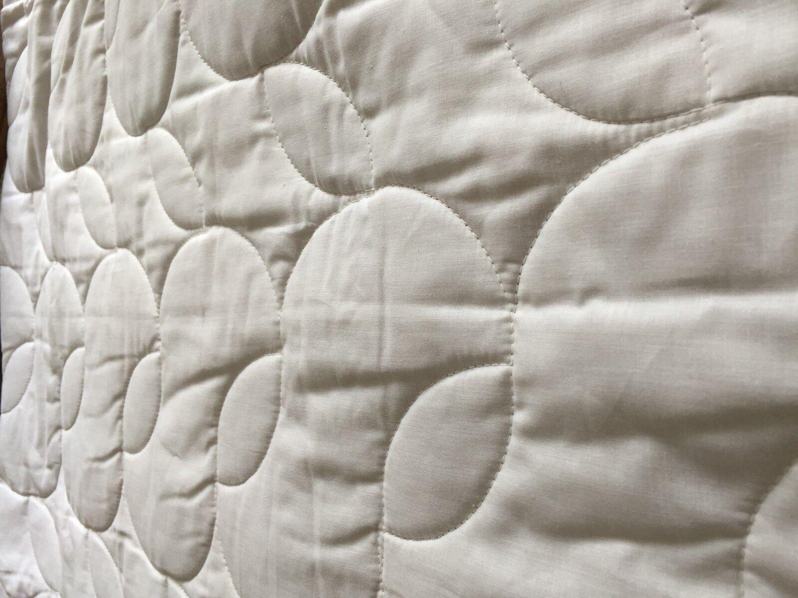 Letto Superiore Trapuntato Mit 100% Imbottitura Cotone 200x220 cm,Prodotto in