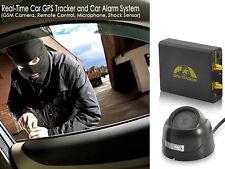 Car Vehicle Tracker Alarm and Tracking System CCTV Camera, Shock Sensor, Remoter