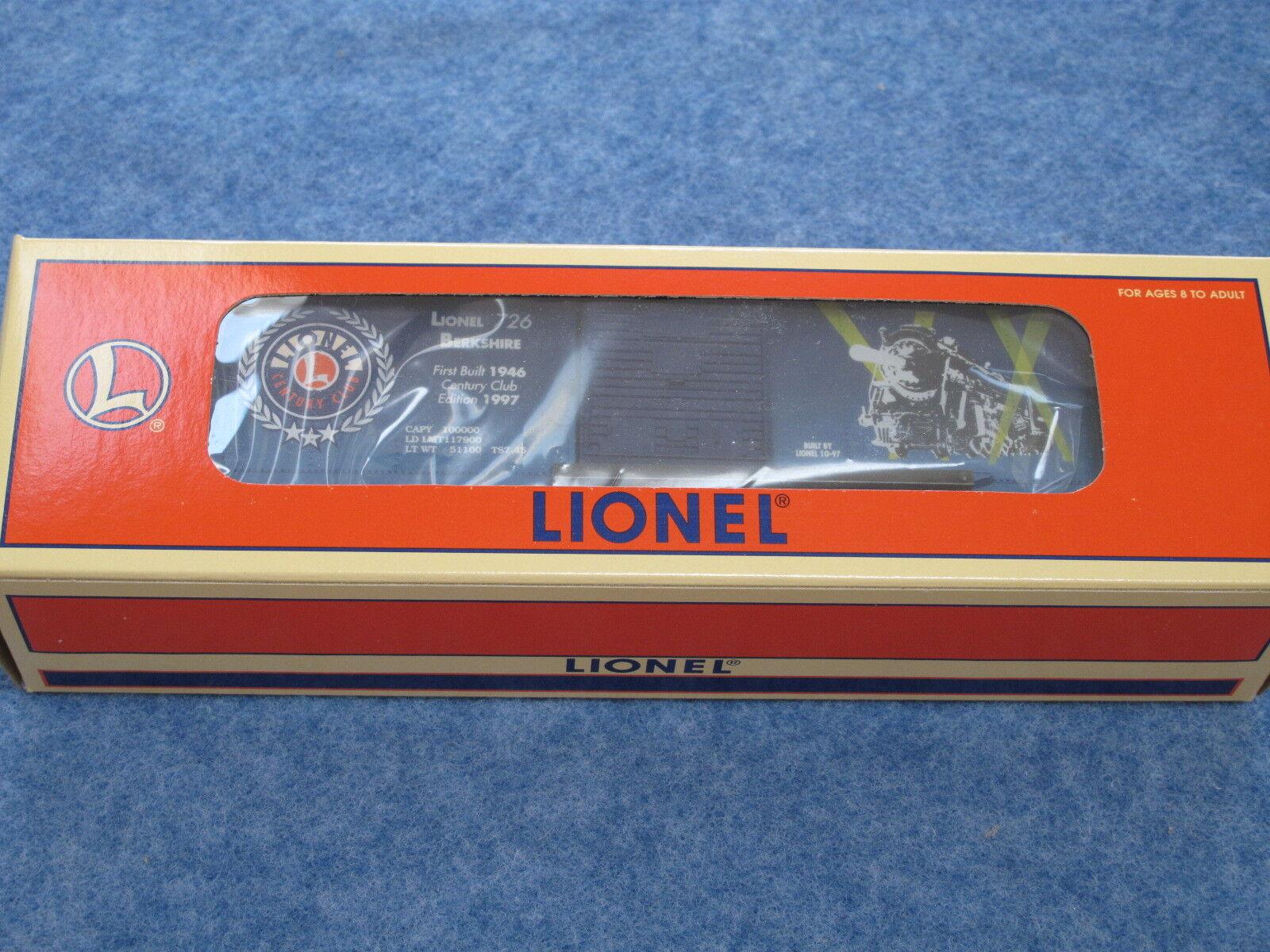 1997 Lionel 6-29226 Century Club 726 Berkshire Box Car NIB L1519