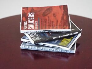 Dollshouse  1:12 Scale OPENING PAGES 4 Miniature  /'Football NFL/'   MAGAZINES