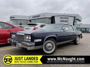 1984 Cadillac Eldorado | Power Windows | AM/FM Radio