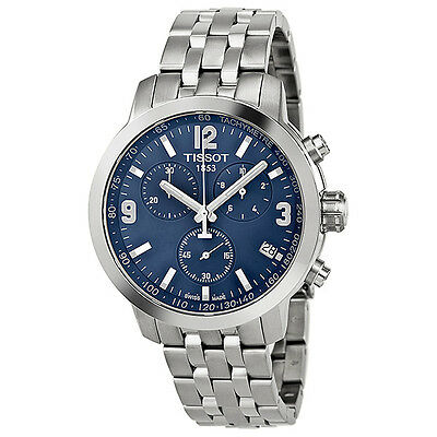 Tissot PRC 200 Chronograph Stainless Steel Mens Watch T0554171104700
