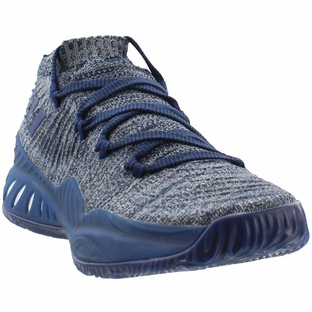 cd032378c11 Adidas Crazy Explosive Low 2017 Sneakers - Navy - Mens Primeknit ...