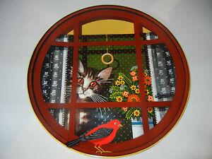 Perenna-Cat-Plate-Thaddeus-Krumeich-Motif-4-Walters-Window-No-4-746