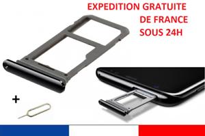 Tiroir-rack-Carte-Sim-SD-Samsung-Galaxy-S8-NOIR-ou-ARGENT-G950-EXTRACTEUR