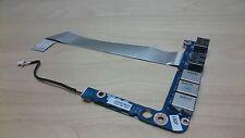 Genuine Dell Studio XPS 1645 1647 1640 Audio Jack Board USB & Cable DA0RM5PIAA0