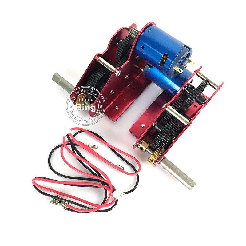 Ultimate Ⅱ Steel Gearbox 59mm HengLong 1/16 RC Tank 3838/39 3878 3889 3908 3918