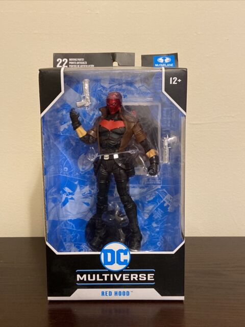 DC Multiverse McFarlane RED HOOD DC New 52 Figure Batman SOLD OUT Box Damage
