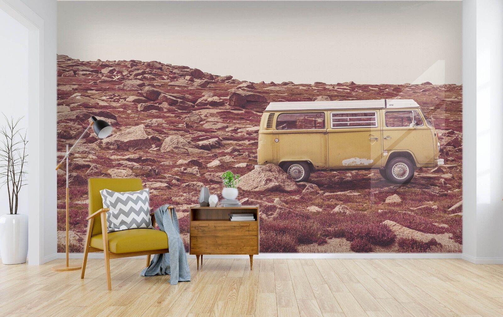 3D Bus Berge 795 Tapete Wandgemälde Tapete Tapeten Bild Bild Bild Familie DE Lemon   Deutschland Frankfurt     b1b27d