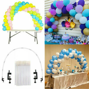 Ballon-Arc-Colonne-Support-Chassis-de-base-Display-Kit-Anniversaire-Mariage-Fete-Decoration