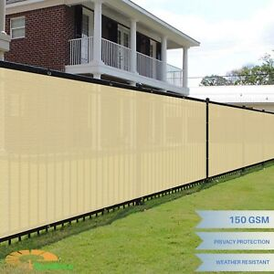 Privacy screen for fence Lattice Image Is Loading Beige8039x50ftprivacyscreen Pinterest Beige 8 50 Ft Privacy Screen Fence Windscreen Mesh Shade Outdoor