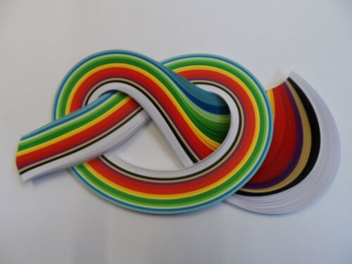 Quilling Paper 5mm Christmas colours 175 strips