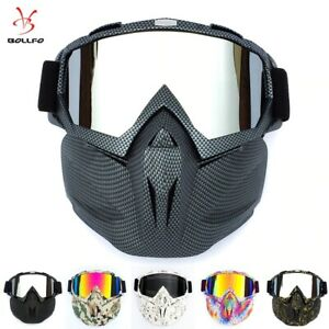 Men-Women-Ski-Snowboard-Goggles-Snow-WINTER-Windproof-Sunglasses-with-Face-Mask