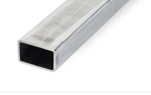 Verzinkt Rechteckrohr Stahlrohr Vierkantrohr Hohlprofil 60x40x2mm 1700mm Lang