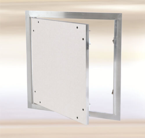 """8/"""" x 8/"""" Drywall Access Panel with 1//2/"""" inlay for wall or ceiling,snap-lock F1"""