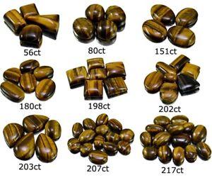 56ct-217ct-Big-Rare-Natural-Tiger-Eye-Cabochon-Loose-Gemstone-Wholesale-Lot