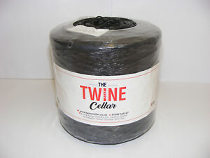strong-black-1kg-Twine-spool-for-garden-or-DIY-use-UK-manufactured-recycled